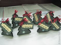 tutorial: Сувенирчики на Новый год для коллег Картон Новый год. Фото 1