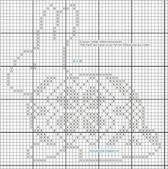 Cross stitch rabbit