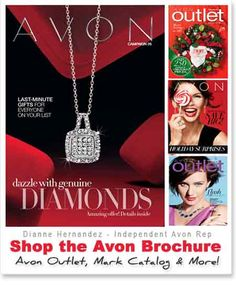 I just finished viewing the current Avon Catalog online!  Take A LOOK!