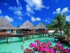 Who wouldn't want to visit Bora Bora?