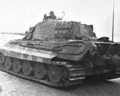Tiger II from rear side #worldwar2 #tanks