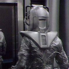Cyberman back