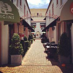 Hidden shopping and restaurants in Winter Park, FL