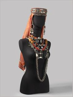 The Jewellery of Jewish Women in El Kelaa des Mgouna, Southern Morocco | © The Israel Museum, Jerusalem