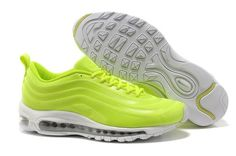 Boots no cheap Nike Air Max 97 Hyperfuse Volt white HOT SALE! HOT PRICE!