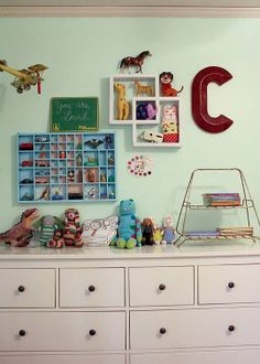 Cooper & Campbell's Cool and Eclectic Shared Room