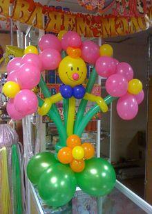 Букет цветов со смайлом Balloon Decorations Party, Birthday Decorations, Baby Shower Decorations, Valentines Balloons, Birthday Balloons, Balloon Flowers, Balloon Bouquet, Balloon Pillars, Wedding Columns