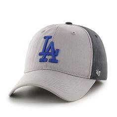 bd5c54b72c1f7 Los Angeles Dodgers Umbra Closer Dark Charcoal 47 Brand Stretch Fit Hat