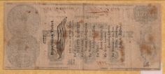 Republican ticket political ad on the back of a two dollar bill - c. 1860