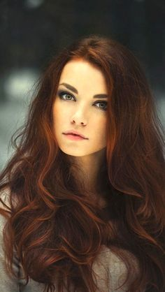 long red hair, love it!