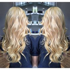 hairstyle - shade of blonde
