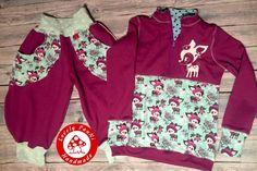 Fleece-Pullover von Lillesol & Pelle, Lässig von Leni PePunkt  #Winterkitze #alles-fuer-Selbermacher