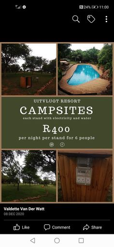 Campsite, Night, Water, Gripe Water, Camping