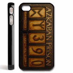 AZKABAN Prison number harry potter movie iPhone 4 / 4S, iPhone 5 case, Samsung S2 / S3 Case - Black / White. $15.90, via Etsy.