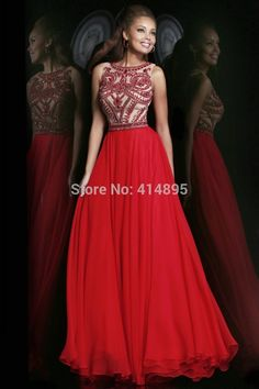 Vestidos De Fiesta 2014 Sexy Red Prom Dresses Long Elegant Prom Dresses Floor Length Gown Vestido Longo Robe De Soiree 2014
