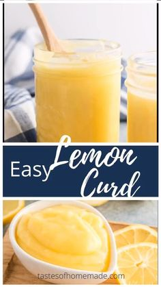 This lemon curd is quick and easy to make. Extra tangy and tart with lots of real lemon, this curd is perfect for pies, tarts, cakes or any other recipe that calls for prepared lemon curd. Also great spread on scones! Microwave Lemon Curd, Easy Lemon Curd, Lemon Curd Filling, Lemon Curd Recipe, Custard Filling, Lemon Custard Pie, Lemon Meringue Pie, Lemon Juice Benefits, Water Benefits