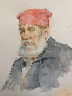 Marie Dauenheimer's Art and Anatomy Blog: Watercolor Wash Drawing with Robert Liberace