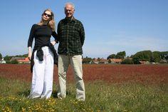 Merel en haar vader Johannnes