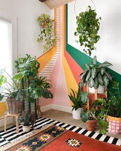 Diy Interior, Interior And Exterior, Interior Decorating, Interior Colors, Interior Livingroom, Flur Design, Bedroom Decor, Wall Decor, Mural Wall