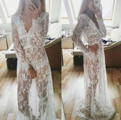 Women's white #black lace overlay beach cover up #holiday maxi #dress floor lengt,  View more on the LINK: 	http://www.zeppy.io/product/gb/2/141933240841/