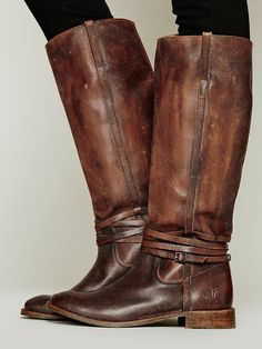 Free People 500 Miles Distressed Tall Boot, $398.00