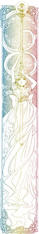 ligbi:    Art Nouveau-esque Neo-Queen Serenity from the third arc.