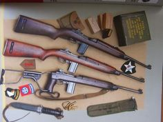 """M-1 Carbine & """"all the trimmings""""."""