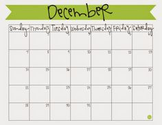 Plan out what will presumably be a super crazy holiday month of December with this free printable calendar. Stay organized AND enjoy your holidays! 2018 Printable Calendar, Monthly Calendar Template, Online Calendar, Calendar Layout, Blank Calendar, Calendar Pages, Calendar Ideas, December 2013 Calendar, 2019 Calendar