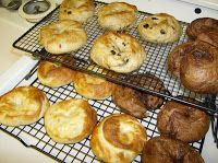 Guia made her yummy bagels using this recipe.