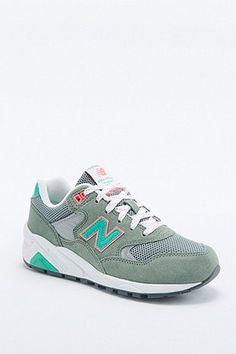 New Balance 580 Khaki Trainers