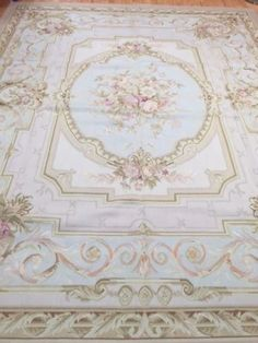 8-x-10-New-Chinese-Aubusson-Oriental-Rug-Hand-Made-100-Wool