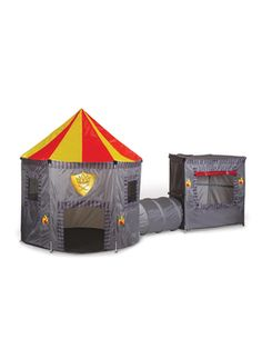 Kingdoms Combo Tent from Kids' Corner: Beanbags, Bookcases