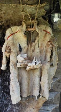 Lapland lap clothes fur skin