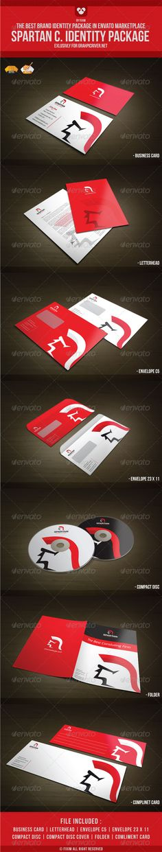 Spartan Consluting Identity Package - GraphicRiver Item for Sale