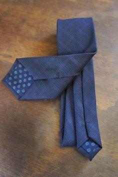 0996384c56da Blue & Purple check wool tie Custom Bow Ties, Wool Tie, Haberdashery,  Bourbon