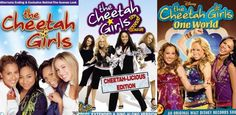 the cheetah girls movies... You know you love them ;)