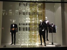 """ZARA,London UK,""""NO, we didn't go over the top this year,we just added some curtain-lights and 'voilà!' Christmas is here"""", pinned by Ton van der Veer"""