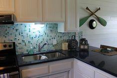 Lake House - tropical - Kitchen - Dallas - Hopkins Designs