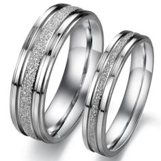 Gemini His and Her Two Tone Rose Gold Couple Titanium Wedding Anniversary Rings Set 6mm /& 4mm Width Men Ring Size 5 9 Women Ring Size