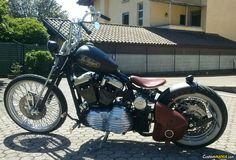 Harley Davidson Sportster XL1200C Custom CHOPPER. See more on CustomMANIA.com e upload your bike too!!!