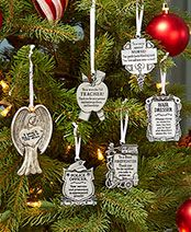 Occupational Sentiment Ornaments