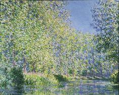 ᐅ Die 99 Besten Bilder von Alte Kunst Bend in the Epte River near Giverny. Claude Monet, Max Beckmann, Stretched Canvas Prints, Canvas Art Prints, Oil On Canvas, Big Canvas, Wassily Kandinsky, Gustav Klimt, Monet Paintings