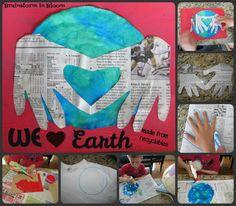 Brainstorm in Bloom: We Heart Earth (Single Stem Idea)