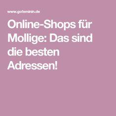 Online-Shops für Mollige: Das sind die besten Adressen!