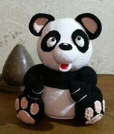 Panda Anleitung von Mala Design