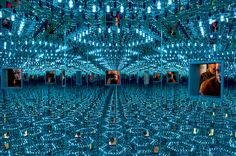 Yayoi Kusama - Infinity Mirror Room – Love Forever, 1994 by de_buurman, via Flickr