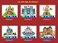 Tic colorea castillos