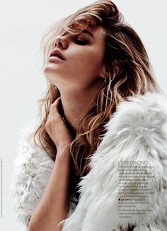 GRUNGE-INSPIRED HAIR + BEAUTY | CAMILLE ROWE FOR ELLE FRANCE // Get the look...