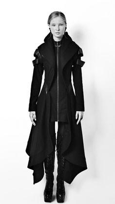 misanthropicmessiah:  Avant Long Coat | Gelareh Designs