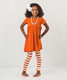 Look at this RuffleGirl Orange